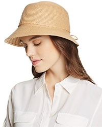 August Accessories Forever Cloche Hat Natural