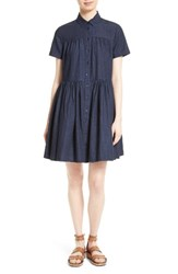 Kate Spade Women's New York Chambray Swing Shirtdress