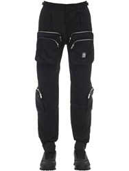 Represent Cotton Cargo Pants Black