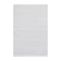 Dash And Albert Herringbone Indoor Outdoor Rug Pearl Grey White