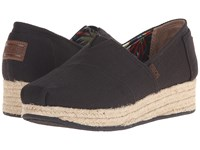 Bobs From Skechers Highlights High Jinx Black Women's Slip On Shoes