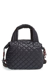 M Z Wallace Mz Wallace 'Small Sutton' Quilted Oxford Nylon Crossbody Bag Black