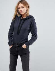 Cheap Monday Hoody Bodysuit Off Black
