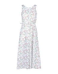 Marios Dresses 3 4 Length Dresses Women White