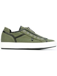 Dsquared2 Zip Detail Sneakers Green