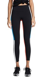 Splits59 Inline 7 8 Leggings Black Neon Multi