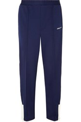 Ambush Striped Stretch Jersey Track Pants Navy