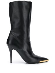 Stella Mccartney Pointed Toe Boots Black