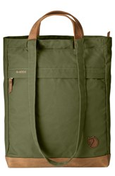 Fjall Raven Fjallraven Totepack No.2 Water Resistant Tote Green