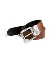 Lauren Ralph Lauren Reversible Leather Belt Brown Black