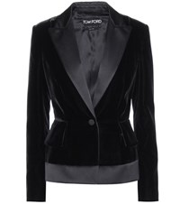Tom Ford Velvet Blazer Black