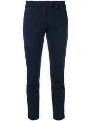Dondup Skinny Trousers Blue