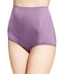 Vanity Fair Perfectly Yours Ravissant Nylon Brief 15712 Smokey Grape