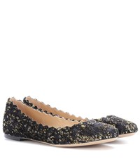 Chloe Lauren Ballerinas Black
