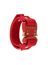 Alyx Small Buckle Cuff Red