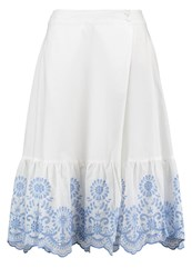 Mintandberry Aline Skirt White Alyssum