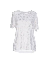 Zadig And Voltaire Topwear T Shirts Women White