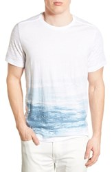 Men's Howe 'South Swell' Print Crewneck T Shirt