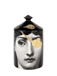 Fornasetti L'eclaireuse Gold Mistero Scented Candle Black Gold