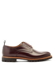 Armando Cabral Astor Leather Derby Shoes Brown