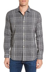 Grayers Men's Douglas Regular Fit Plaid Double Woven Sport Shirt