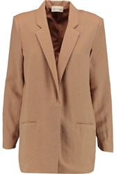 American Vintage Beaumont Twill Blazer Nude