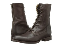 Frye Jamie Artisan Lace Dark Brown Washed Vintage Women's Lace Up Boots