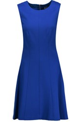Magaschoni Stretch Jersey Dress Royal Blue