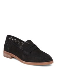 Vince Camuto Kanta Perforated Loafers Black