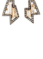 Nak Armstrong Women's Geometric Studs Red