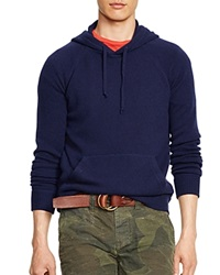 Polo Ralph Lauren Hooded Cashmere Sweater Bright Navy
