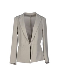 Fabrizio Lenzi Blazers Light Grey