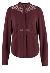 Vero Moda Vmlaura Shirt Decadent Chocolate Brown