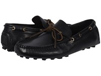 Frye Russel Tie Black Vintage Pull Up Men's Slip On Shoes