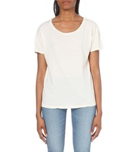 Ag Jeans Bailey Cotton Jersey T Shirt Pww