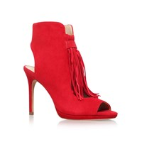 Vince Camuto Abigalla High Heel Shoe Boots Red