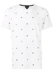 Just Cavalli Studded Star T Shirt White
