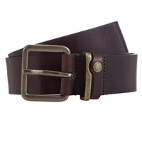 Ted Baker Katchup Leather Belt Chocolate