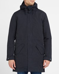 Levi's Blue Removable Sherpa Lining Military Parka