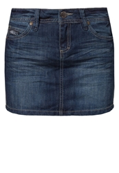 Sublevel Denim Skirt Blue