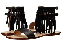 Splendid Taryn Black Vintage Leather Suede Women's Sandals
