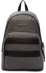Marc By Marc Jacobs Grey Domo Arigato Packrat Backpack