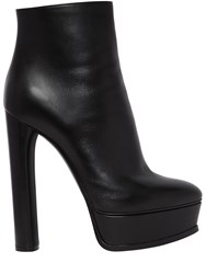 Casadei 140Mm Leather Ankle Boots