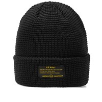 Uniform Experiment Uen Knit Beanie Black