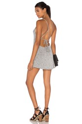 Riller And Fount Miki Dress Grey