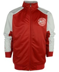 Majestic Men's Atlanta Hawks Geo Track Jacket