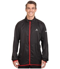 Salomon Agile Jacket Black Men's Coat