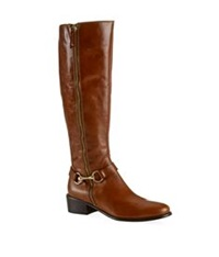 Carvela Kurt Geiger Waffle Riding Boot Brown
