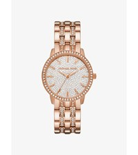 Nini Pave Rose Gold Tone Watch