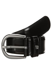 Aigner Braided Belt Black